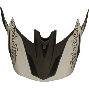 Troy Lee Designs D4 Helmet Replacement Visor Exile Black