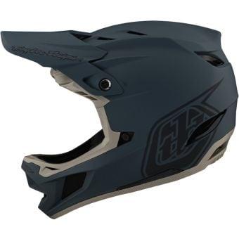 Troy Lee Designs D4 MIPS Full Face Composite Helmet Stealth Grey