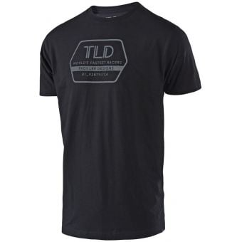 Troy Lee Designs Factory Tee Black 2021