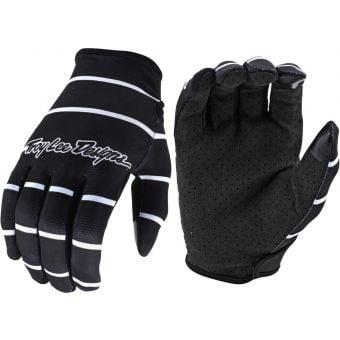 Troy Lee Designs Flowline MTB Gloves Stripe Black 2021