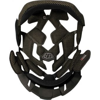 Troy Lee Designs Replacement Headliner for D4 Helmet Black