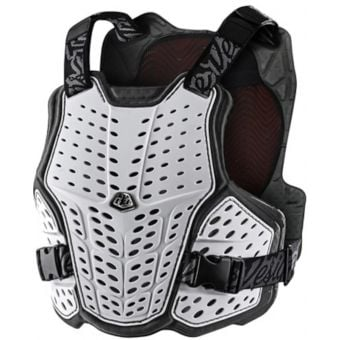 Troy Lee Designs Rockfight CE Flex Chest Protector White 2021