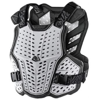 Troy Lee Designs Rockfight Chest Protector White 2021