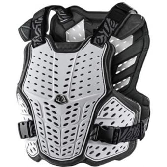Troy Lee Designs Rockfight Youth Chest Protector White 2021