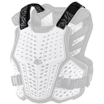 Troy Lee Designs Rockfight Youth Replacement Shoulder Straps Black 2021
