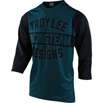 Troy Lee Designs Ruckus 3/4 Sleeve MTB Jersey Team 81 Marine 2021