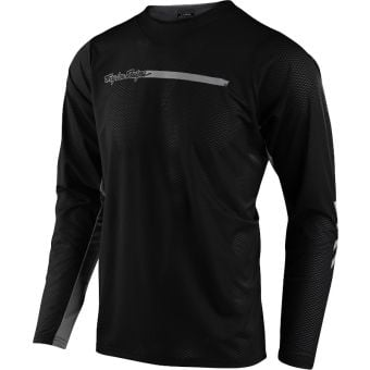 Troy Lee Designs Skyline Air Long Sleeve MTB Jersey Channel Black 2021