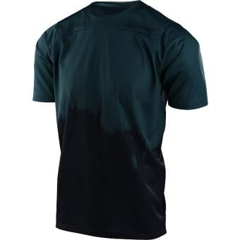 Troy Lee Designs Skyline Short Sleeve Youth MTB Jersey Diffuze Light Marine/Navy 2021