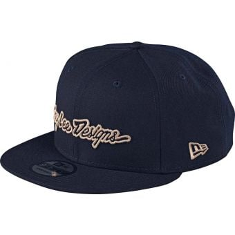 Troy Lee Designs Snapback Signature Cap Navy 2020 Unisize