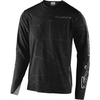 Troy Lee Designs Sprint LS Ultra Jersey Podium Black/Silver 2020