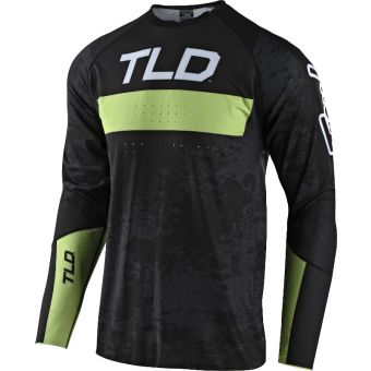 Troy Lee Designs Sprint Ultra MTB Jersey Grime Black/Glo Green 2021
