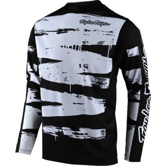 Troy Lee Designs Sprint Youth MTB Jersey Brushed Black/White 2021