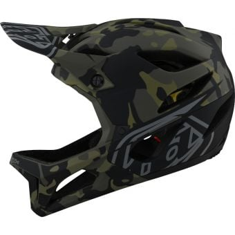 Troy Lee Designs Stage MIPS Full Face Helmet Camo Olive