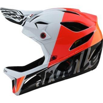 Troy Lee Designs Stage MIPS Full Face Helmet Nova White