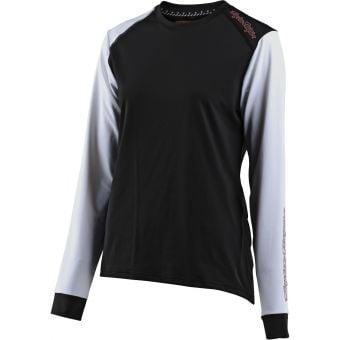 Troy Lee Designs Womens Lilium LS Jersey Black/White 2021
