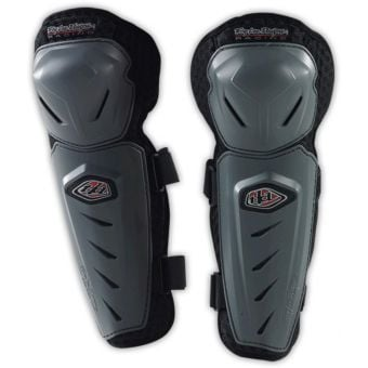 Troy Lee Designs Youth Knee Guards Grey 2016