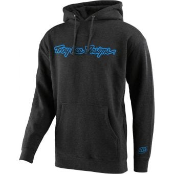Troy Lee Designs Youth Signature Pullover Hoodie Charcoal 2021