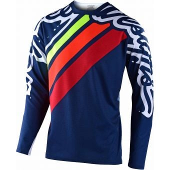 Troy Lee Designs Youth Sprint Jersey Seca 2.0 Navy/Red 2020