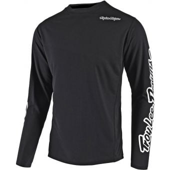 Troy Lee Designs Youth Sprint Jersey Solid Black 2020