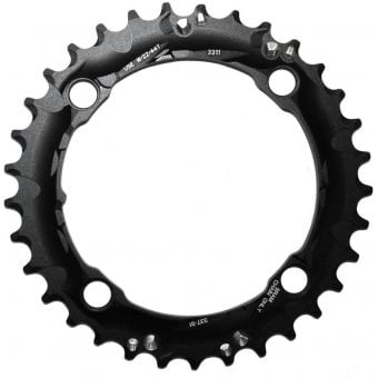 Truvativ 104BCD 33T 4 Bolt S1 3x10sp Alloy MTB Chainring Blast Black