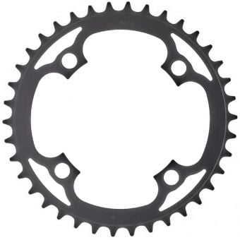 Truvativ 104BCD 38T 4-Bolt Single Speed Alloy MTB Chainring Blast Black