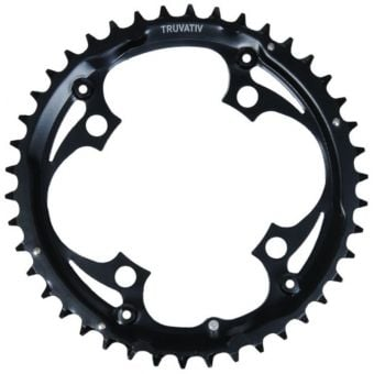 Truvativ 104BCD 42T 4-Bolt Steel MTB Chainring Black