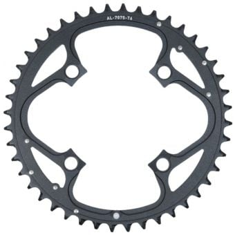 Truvativ 104BCD 44T 4-Bolt Alloy MTB Chainring Blast Black