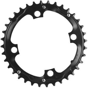 Truvativ 9S 104BCD AL3 MTB Outer Chainring Blast Black 36T