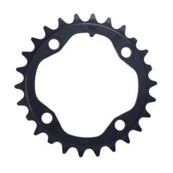 Truvativ Alloy S1 80 BCD 3mm 26T MTB Chain Ring Black