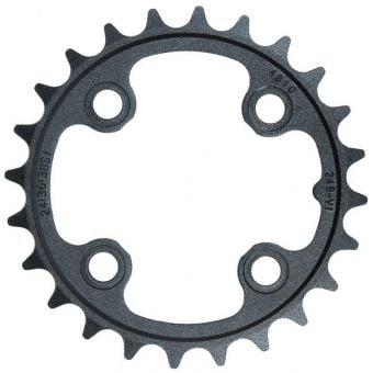 Truvativ V1 24T 9/10 Speed Triple Inner Aluminium Chainring Black