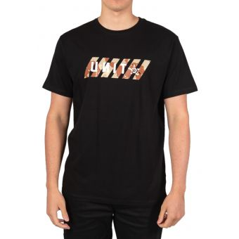 UNIT Canyon SS T-Shirt Black 2021 Small