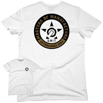 UNIT Clate SS T-Shirt White 2022
