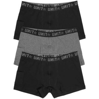 UNIT Day To Day Underwear Briefs (3 Pack) Multicolour