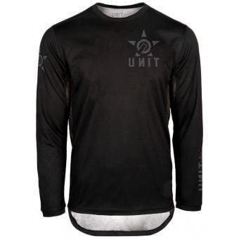 UNIT Fixed LS Jersey Black 2022
