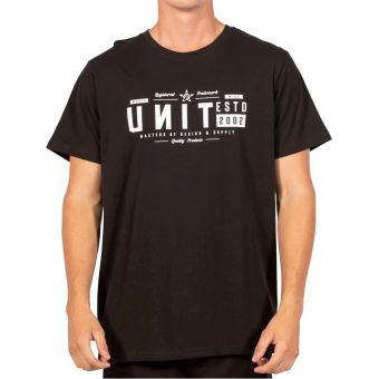 UNIT Grant SS T-Shirt Black 2020