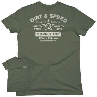 UNIT Presto SS T-Shirt Military Green 2022