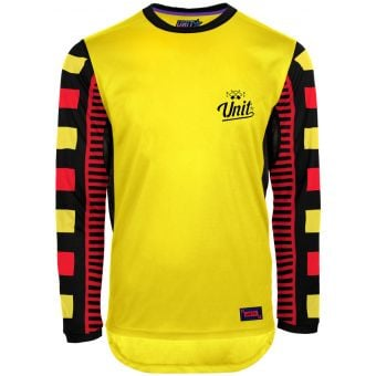 UNIT Protect LS MTB Jersey Yellow 2020
