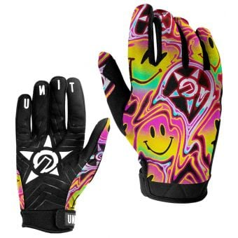 UNIT Smiley Youth MX Gloves Multicolour 2021