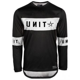 UNIT Soul LS MX Jersey Black 2021 X-Small
