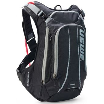 USWE Airborne 15 Elite Hydration Pack w/ 3L Elite Reservoir Black/Grey