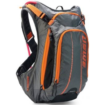 USWE Airborne 15 Elite Hydration Pack w/ 3L Elite Reservoir Grey/Orange