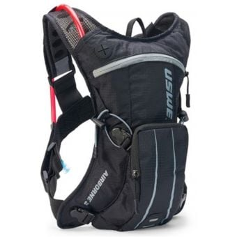 USWE Airborne 3 Hydration Pack w/ 2L Elite Reservoir Black/Grey