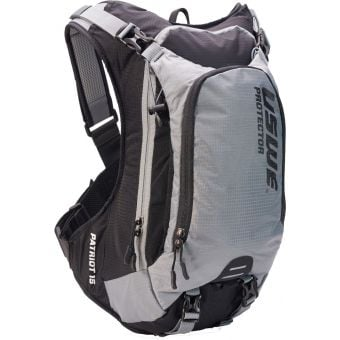 USWE Patriot 15 Protector Hydration Pack Grey/Black