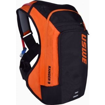 USWE Ranger 9 Elite Hydration Backpack Orange/Black
