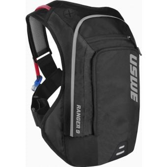 USWE Ranger 9 Elite Hydration Backpack Black