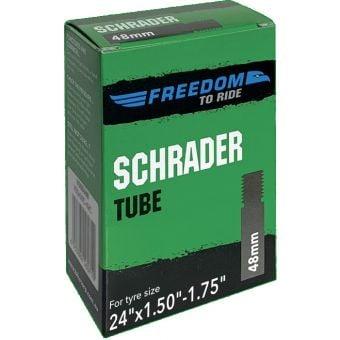 Tioga 24x1.50/1.75 Schrader Valve Tube