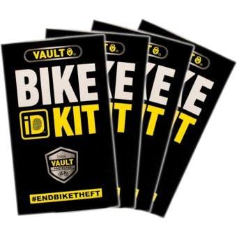 VAULT Bike ID Kit 4 Pack