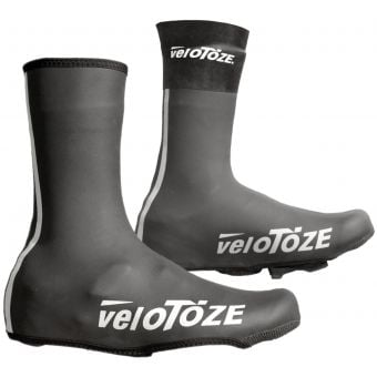 veloToze Neoprene Cycling Shoe Covers Black