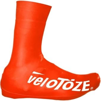 veloToze Tall 2.0 Road Shoe Covers Red