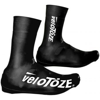 veloToze Tall Road 2.0 Shoe Covers Black